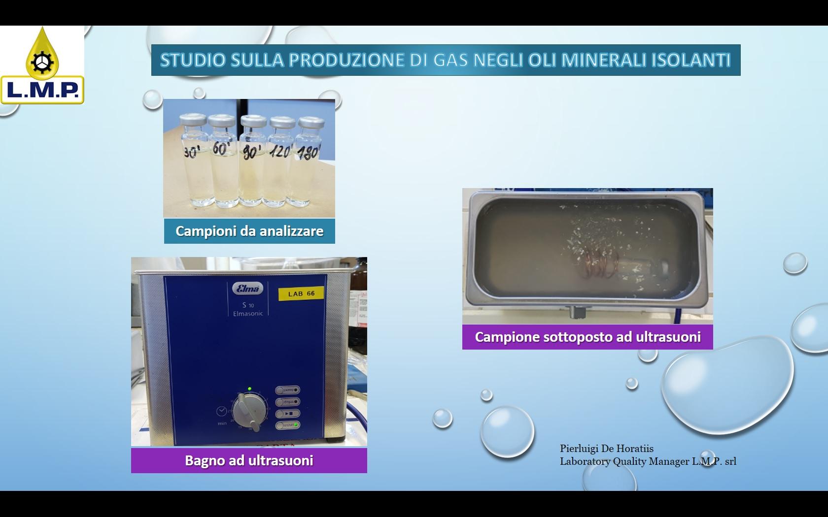 Produzione di gas dopo il trattamento con ultrasuoni  Blog di Pierluigi De Horatiis
